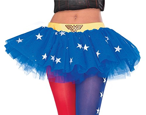 Adult DC Comics Super Hero and Villain Tutu Skirts (Wonder (Heroes And Villains Costumes Women)
