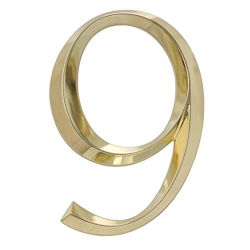 Whitehall Products Classic 6 Inch number 9 Polished Brass...