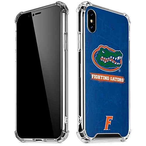 Skinit Florida Gators iPhone XR Clear Case - Officially Licensed University of Florida Phone Case - Slim, Lightweight, Transparent iPhone XR Cover