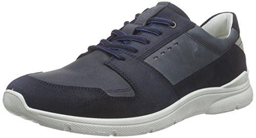 Ecco Herren Irondale Low-top Blau (marino / Marino 50595)