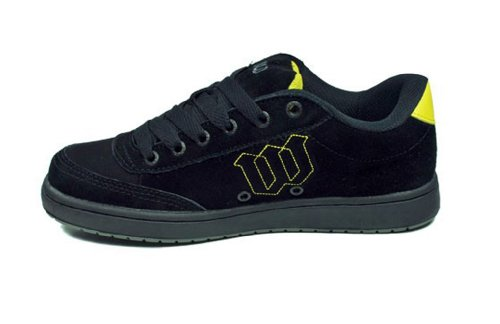World Industries Herren Basic Se Sneakers Skateboardschuhe, schwarz / gelb