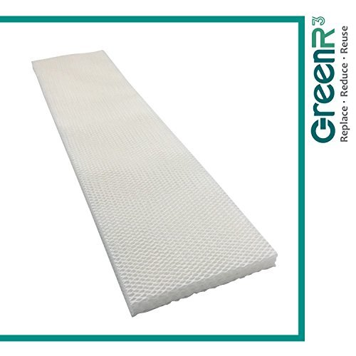 GreenR3 1-PACK Wick Filters Humidifiers for Essick Air MAF-1 fits Kenmore 14906 Moistair MA0950 MA1201 144115 29980 299805C Emerson 1200 9500 12000 12001 12010 MA12000 MA12001 MA12010 and more by GreenR3
