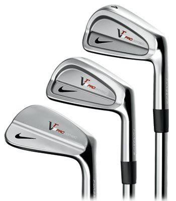 Nike Golf Victory Red Pro Combo Forged Irons, Set of 8 (3-PW, Right Hand, Steel, Regular), Outdoor Stuffs