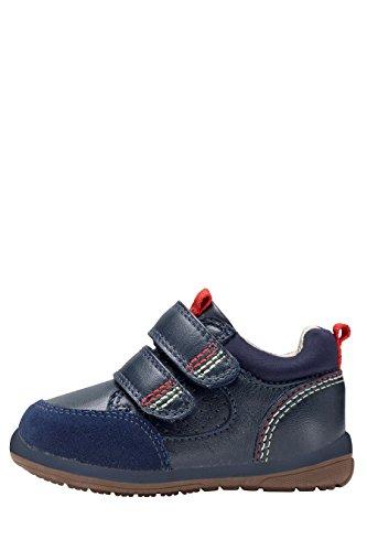 next Niños Zapatillas Primeros Pasos Corte Ancho Zapatos Deporte Azul Marino