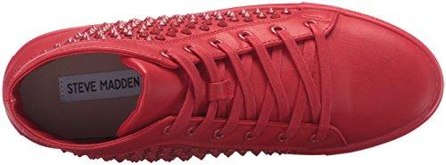 Zapatillas De Deporte Steve Madden Mujeres Levels Red W Studs