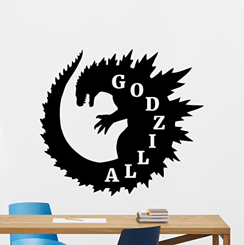 godzilla wall decal - 5