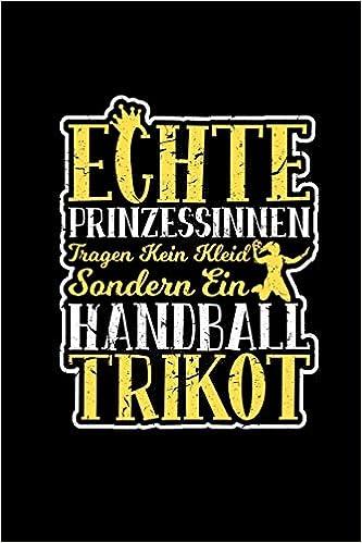 Handball Trikot Notizblock Notizheft A5 Blanko