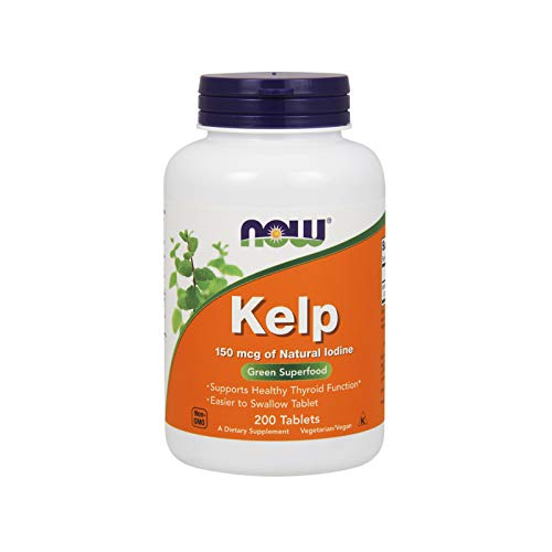 NOW Supplements, Kelp 150 mcg, 200 Tablets