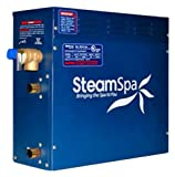 Steam Spa IN450GDC Indulgence Complete Package with 4.5kW Steam Generator, Gold