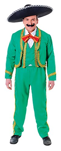 Bristol Novelty AC663 Mexican Man Costume, White, 44-Inch]()