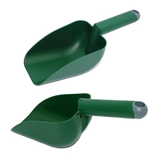 Set of 2 Plastic Soil Scoops
