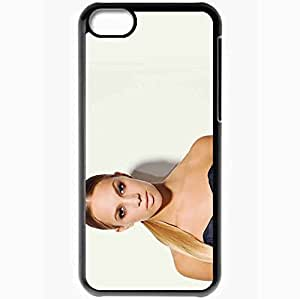 Personalized iPhone 5C Cell phone Case/Cover Skin Agnes Carlsson Black