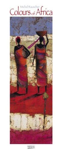 Colours of Africa 2015. Kunst Vertikal Kalender by