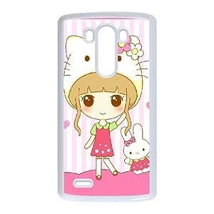 Lovely girls For LG G3 Csaes phone Case THQ140946
