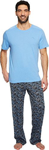 Tommy Bahama Men's Holiday 2-Pack Short Sleeve Set Palms In The Wind ()