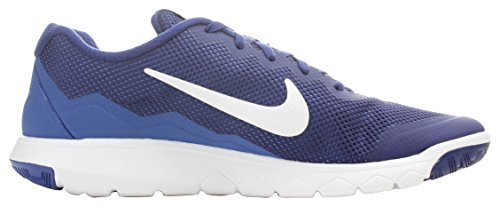 Men's Nike Flex Experience Run 4 Running Shoe Deep Royal Blue/Game Royal/White Size 11.5 M US