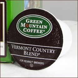 Country Green - Green Mountain Coffee Fair Trade VERMONT COUNTRY BLEND 120 K-Cups for Keurig Brewers