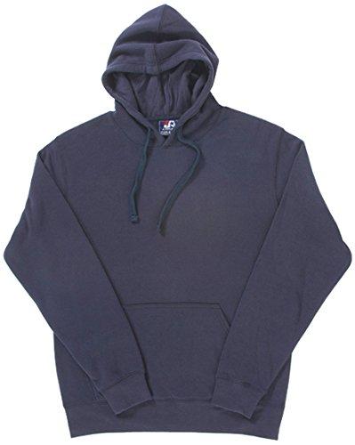 J America Mens Cloud Pullover Fleece Hood Ja8620 -Navy 3xl JA8620