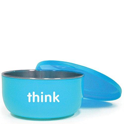 Thinkbaby Soup Bowl High Rise, Light Blue