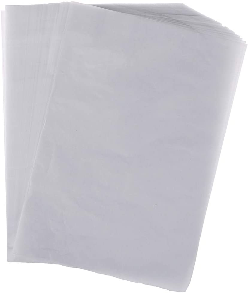 25cm 300Pcs Translucent Tracing Paper Pemium Quality Trace Paper Copy Printing Engineering Drawing Paper 18
