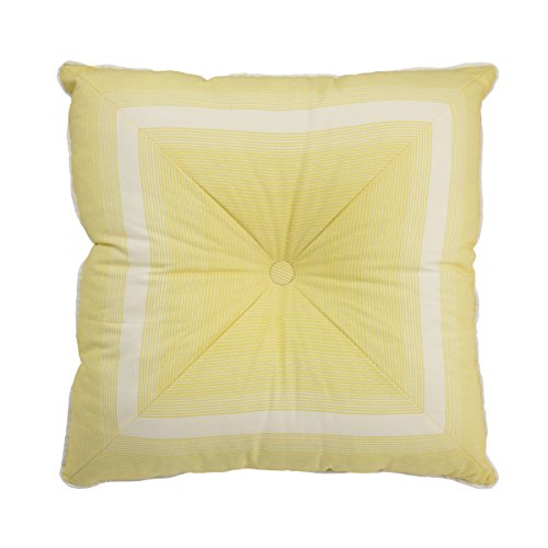 Waverly 15550020X020SPR Paisley Verveine 20-Inch by 20-Inch Tufted Stripe Decorative Pillow, Spring