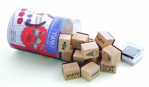 Hero Arts Woodblock Stamp Set, Sweets Ink N Stamp by Hero Arts, Inc.