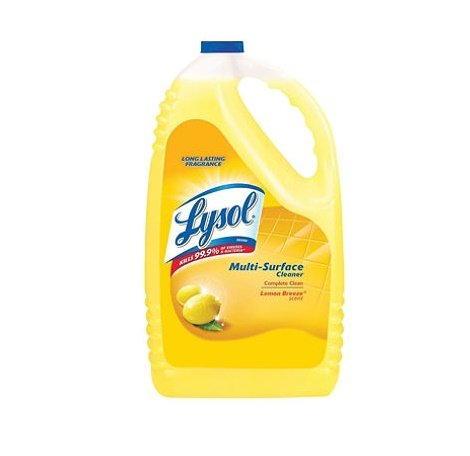 Bottle Lemon Scent (Lysol - All-Purpose Cleaner - Lemon Breeze - 144 Ounces)