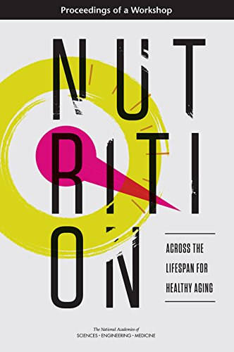 Large book cover: Nutrition Across the Lifespan for Healthy Aging