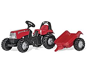 Rolly Toys CASE CVX 1170 Kid Tractor with Trailer