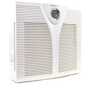 TheraPure 300D HEPA-type Air Purifier w/Triple Action Purification & 4-Speed Fan