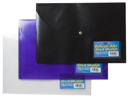 Deluxe Stud (5 x A4+ De-Luxe Stud Wallet (Assorted))
