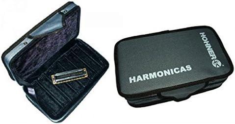 ESTUCHE FUNDA ARMONICA - Hohner (91150) Estuche/Funda para 7 Arrmonicas de Blues: Amazon.es: Instrumentos musicales