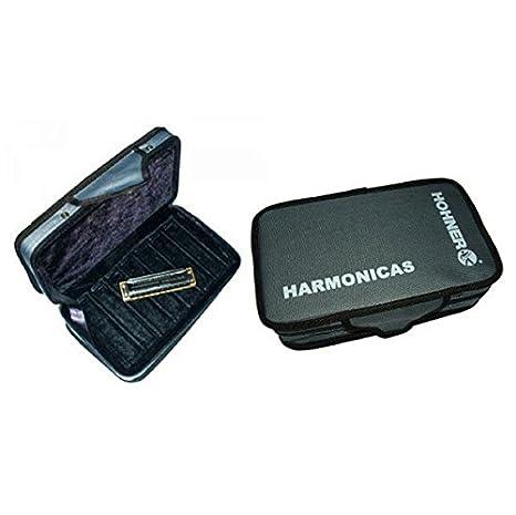 Amazon.com: ESTUCHE FUNDA ARMONICA - Hohner (91150) Estuche ...