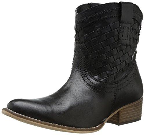 Diba Free Pass Leather Boot Women's Black 0q0SCfO