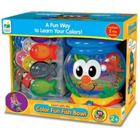 The learning journey learn with me color fun for Fisher price fish bowl