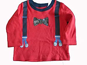 George UK Red Top & Shirt For Boys
