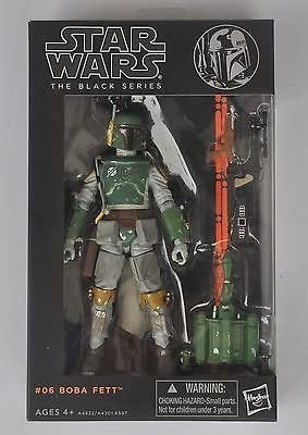 "new in box New Star wars the Black Series 6/"" Action Figure Boba Fett Gift"