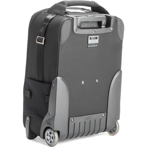 Think Tank Airport International V3.0 Rolling Camera Bag for 2 Gripped DSLRs with Lenses Attached, 2-4 Additional Lenses, 15'' Laptop, 10'' Tablet