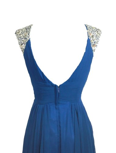 Damen Blau Fashion Y Kleid Alivila 0xRE10