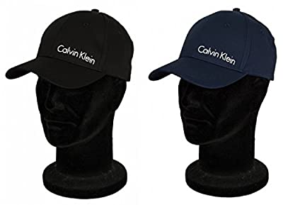 Adjustable baseball hat with visor CK CALVIN KLEIN item KM0KM00133 TWILL CAP