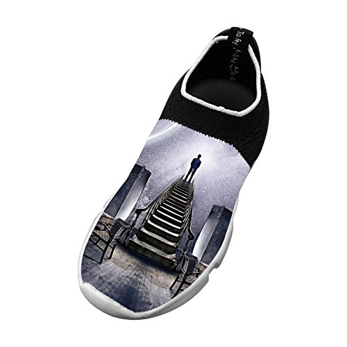 Stargazer New Fashion Flywire Weaving 3D Printing Sneaker For Unisex Children - Stargazer Apparel