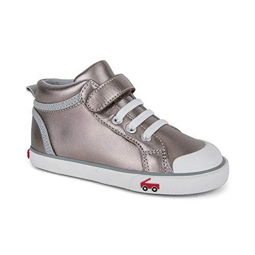 (See Kai Run Girls' Peyton Sneaker, Pewter Leather, 12.5 M US Little Kid)