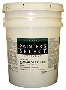 True Value JSP-5G Pastel Semigloss Interior Latex Enamel, 5-Gallon