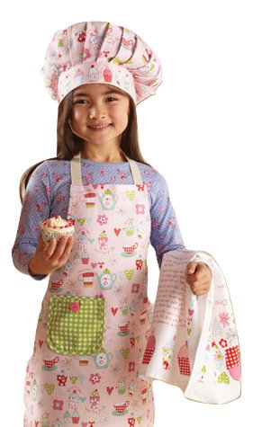 Cooksmart Kids - Juego de 3 piezas  delantal 5d569e44546