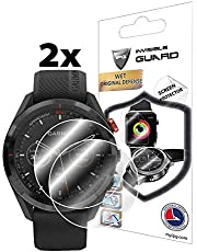 IPG for Garmin Approach S62 Golf GPS Watch Touchscreen Screen Protector (2 Units) Invisible Ultra HD Clear Film Anti Scratch Guard-Smooth/Self-Healing/Bubble -Free