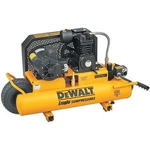 Dewalt D55580 20 Amp 10 Amp 2 Horsepower 8 Gallon Wheeled