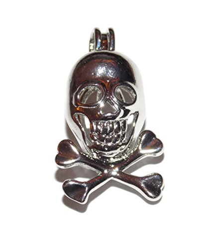 Skeleton Skull Pearl Cage Pick