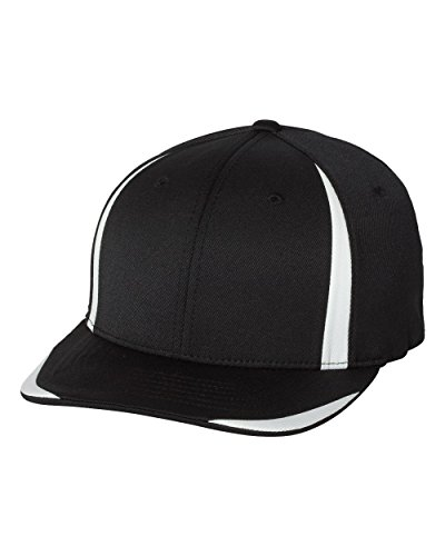 flexfit-cool-dry-double-twill-cap-6599-black-white-l-xl