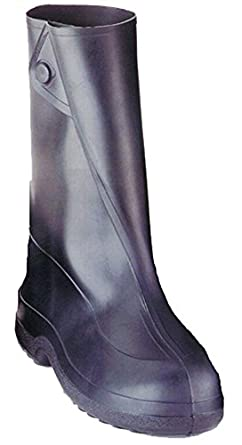90966f5b5a1660 Tingley Rubber 10-Inch 1400 Rubber Overshoe with Button Boot