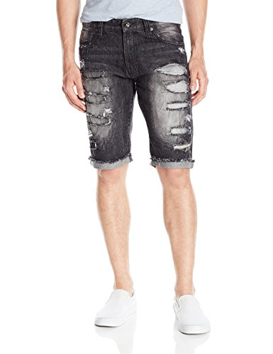 Southpole Shorts Destructed Backed Repaired